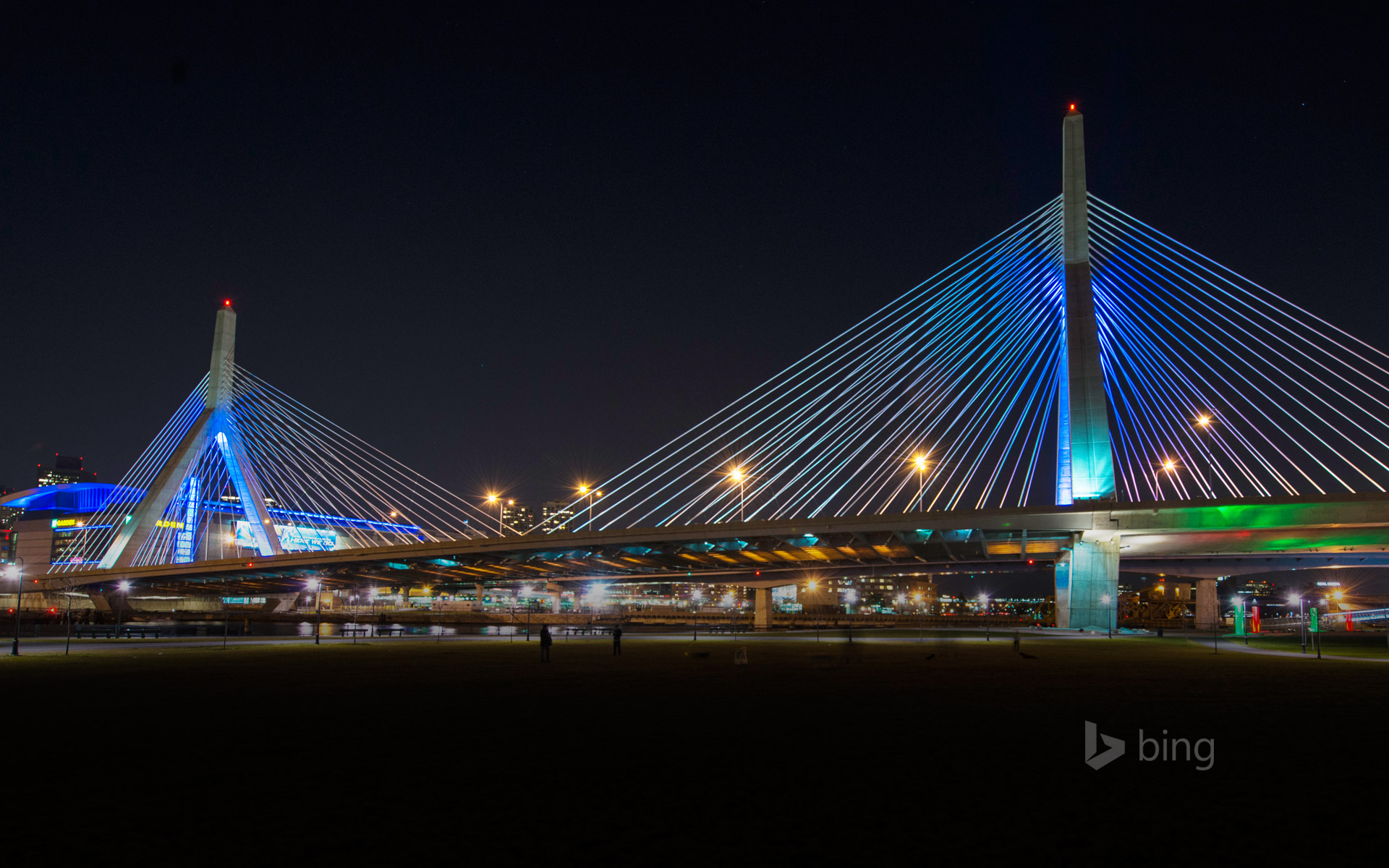 Leonard P. Zakim Bunker Hill Bridge, Boston, Massachusetts